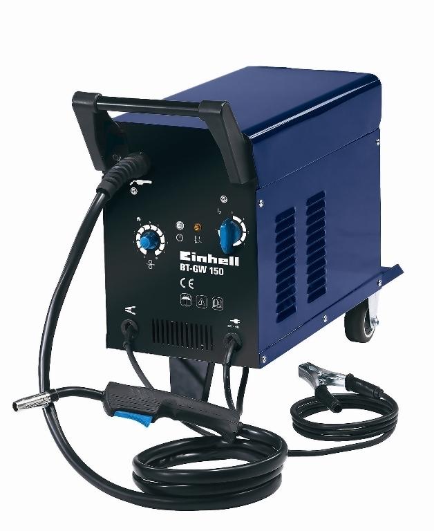Svářečka s ochrannou atmosférou Einhell BT-GW 150 Blue