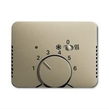 Kryt termostatu s posuvným přepínačem Alpha palladium