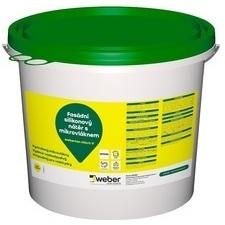 Barva fasádní weberton micro V bílá 25 kg