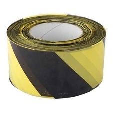 Páska výstražná 70 mm/500m žluto-černá