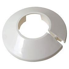 Krycí rozeta na potrubí průměr 22 mm, bílá