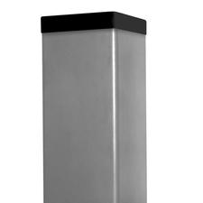 Sloupek poplastovaný DŘEVOplus barva šedá 60×60 mm 1 m řez