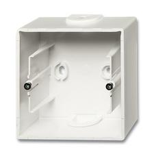 Krabice přístrojová nástěnná Future linear mechová bílá