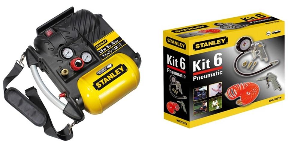 Kompresor pístový STANLEY DN 200/10/5 s příslušenstvím Kit Box