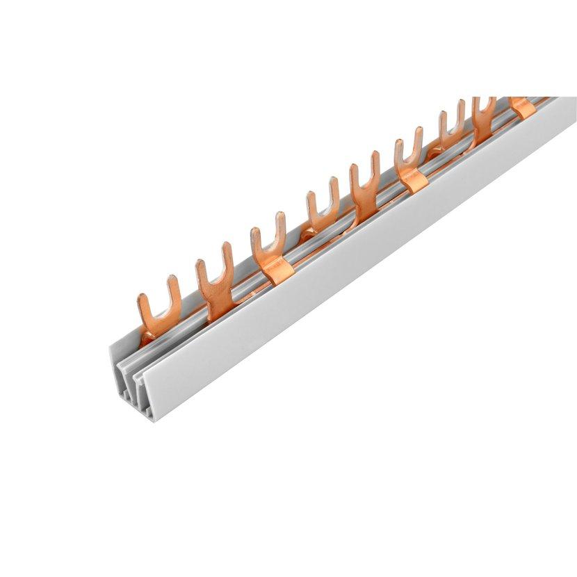 Lišta propojovací Eleman, 3pól, 57 modulů, vidlička