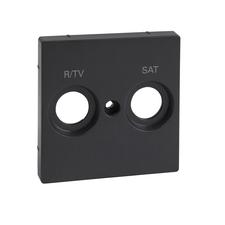 Kryt pro anténní zásuvku R/TV+SAT Schneider Merten, antracit