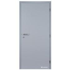 Dveře interiérové protipožární Masonite Lume Extra Safety B2 šedé levé 800 mm