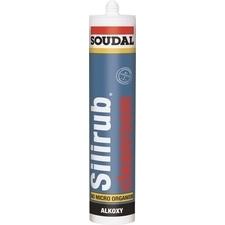 Neutrální silikon Silirub Cleanroom 310 ml, bílý