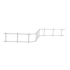Distanční podložka pro horní výztuž DISTECH Cetfix výška 100 mm, délka 2 m