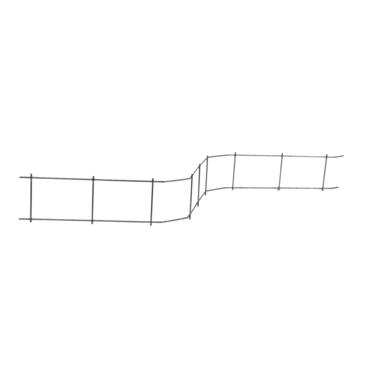 Distanční podložka pro horní výztuž DISTECH Cetfix výška 90 mm, délka 2 m