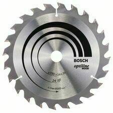 Kotouč pilový Bosch Optiline Wood 190×20/16×1,6 mm 24 z.