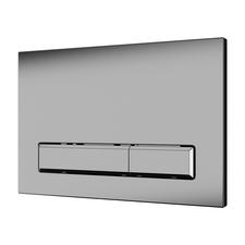Tlačítko splachovací Sanela SLW 52, matný chrom