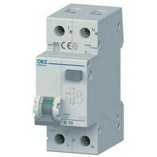 Chránič proudový s jištěním OEZ OLE-16B-1N-030AC 6 kA 2pól 16 A