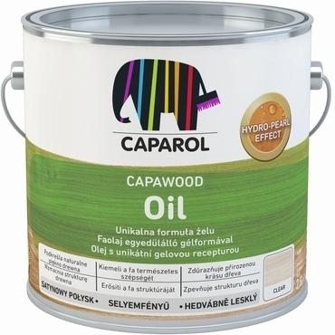 Olej ochranný Caparol CapaWood Oil bezbarvý, 2,5 l