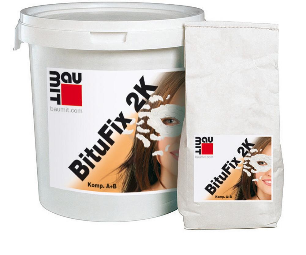 Dvousložkové živičné lepidlo Baumit BituFix 2K na XPS desky, 30l