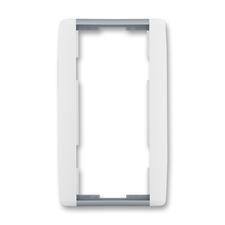 Rámeček dvojnásobný svislý Element bílá / ledová šedá
