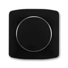 Kryt stmívače s otočným ovladačem Tango černá