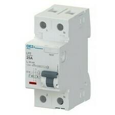 Chránič proudový OEZ LFE-25-2-030AC 6 kA 2pól 25 A