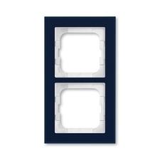 Rámeček ABB Busch-axcent dvojnásobný sklo fialové