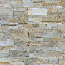 """Lepený rohový kamený díl DEKSTONE Q 010  rohy - """"Z""""  lepený – 18x(20+15)x0,5-3cm"""