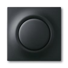 Kryt stmívače s krátkocestným ovladačem Impuls mechová černá