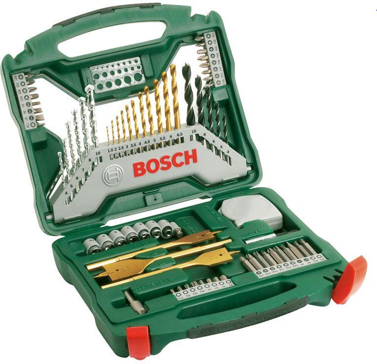 Sada nářadí Bosch X-Line titan (70 ks/sada)