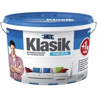 Malba interiérová HET Klasik bílá, 7+1 kg
