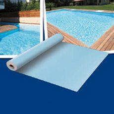 Bazénová fólie z PVC-P ALKORPLAN světle modrá 1,5 mm