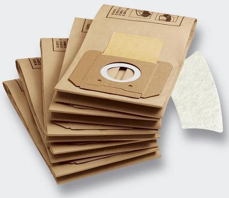 Sáčky filtrační papírové + mikrofiltr Kärcher (2701/2801) 5 ks