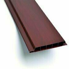 Palubka obkladová plastová mahagon 100×9×3000 mm