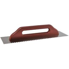 Hladítko nerezové zubové DEK HN60 130×480 mm zuby 6 mm