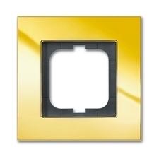 Rámeček jednonásobný Solo carat zlatá mosaz
