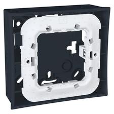 Krabice nástěnná Schneider Unica, grafit, jednonásobná