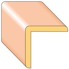 Lišta rohová R4 smrk nastavený 35×35×2000 mm, 25 ks/bal.