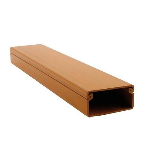 Lišta 40×20 imitace dřeva světlá (2m)