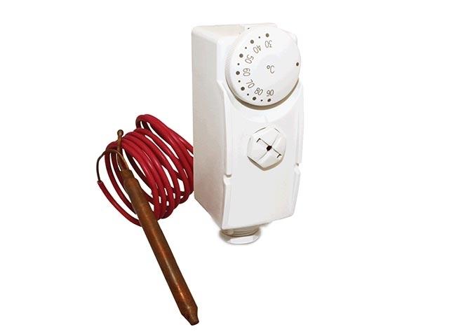 Termostat příložný SALUS TC AT10F s čidlem