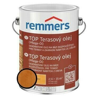 Olej terasový Remmers TOP douglaska, 0,75 l