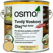 Olej tvrdý voskový Osmo Original 3032 bezbarvý 0,75 l