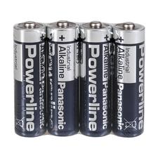 Sada alkalických baterií AA Sanela SLA 36, 4 ks
