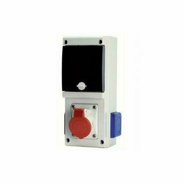 Kombinace zásuvková Scame BLOCK1 2× 230 V 1× 400 V