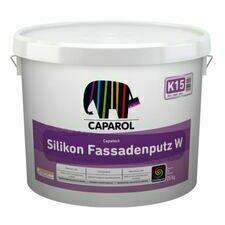 Omítka silikonová Caparol Capatect Silikon Fassadenputz W K15 bílá 25 kg