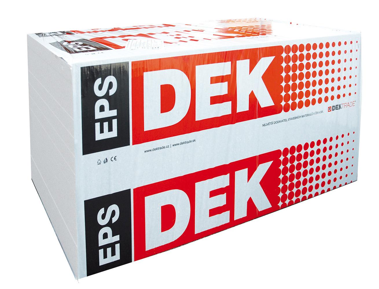 Fasádní polystyren DEK EPS 70F 240 mm (1000x500 mm)