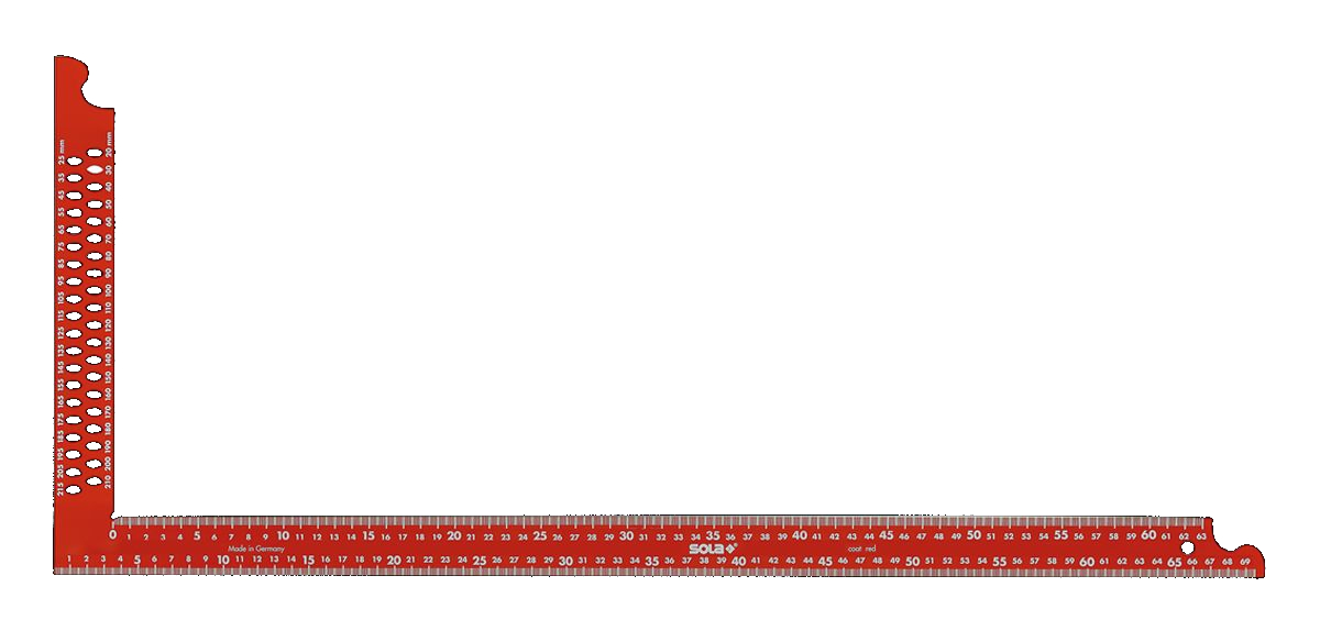 Úhelník tesařský SOLA ZWCA 600×280 mm
