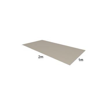 Tabule VIPLANYL z poplastovaného plechu 2x1 m 60/860 (hnědá – RAL 8017)