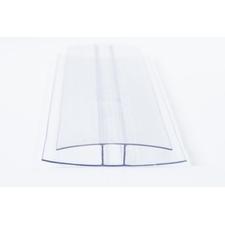 Polykarbonátový profil spojovací tvaru H rozteč 10mm délka 6m
