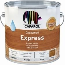 Lazura na dřevo Caparol CapaWood Express white, 2,5 l