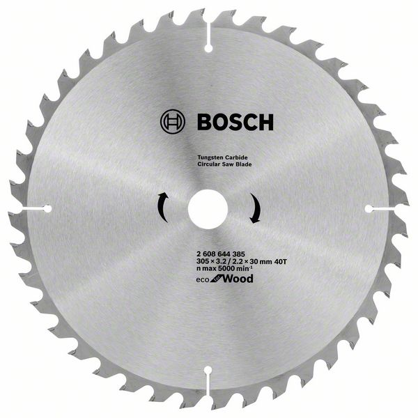 Kotouč pilový Bosch Eco for Wood 305×30×2,2 mm 40 z.
