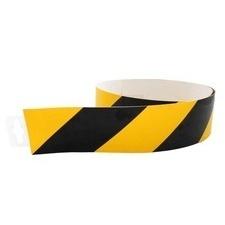 Pás bezpečnostní 60 mm/0,98 m žluto-černá