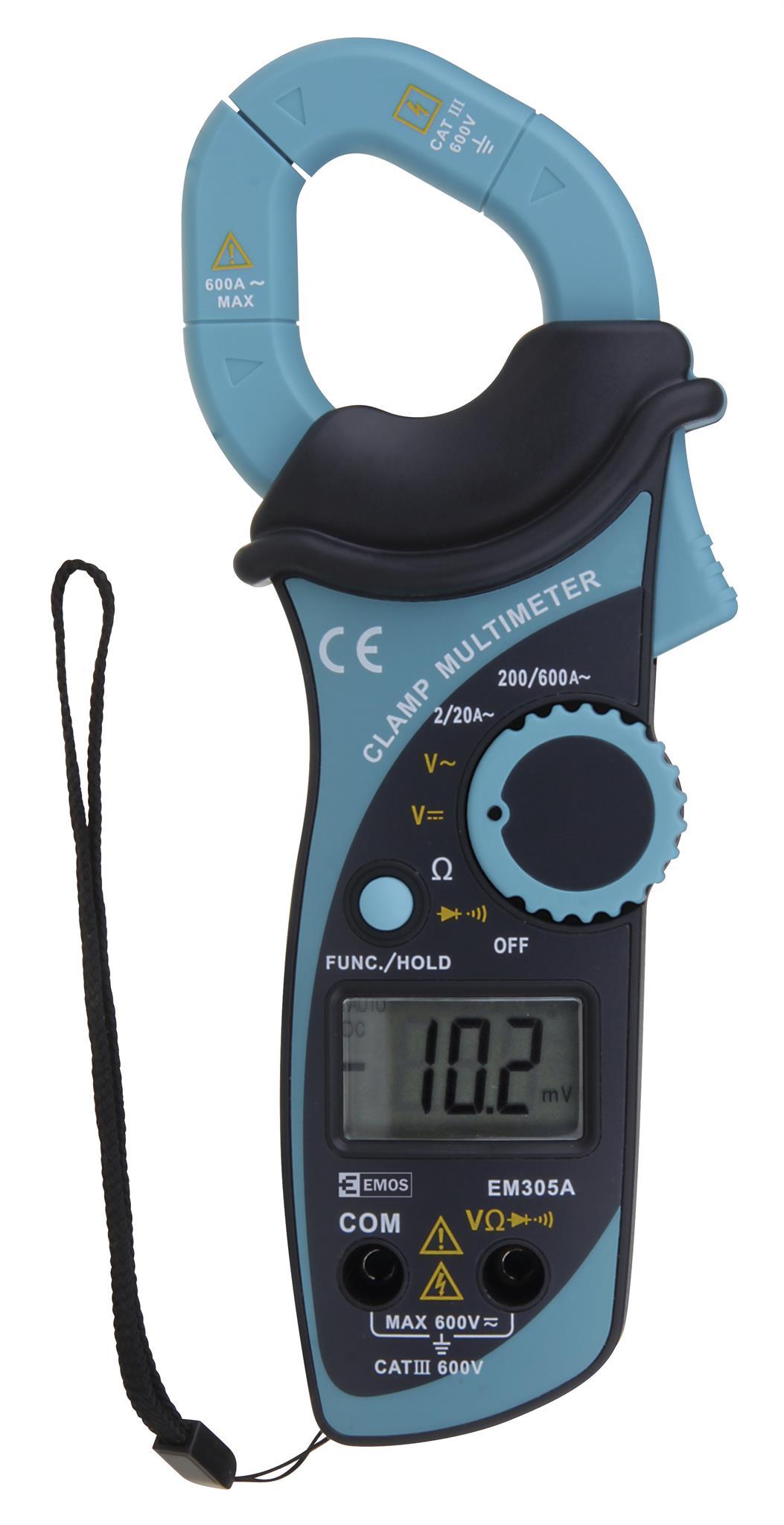 Multimetr klešťový EMOS EM305A