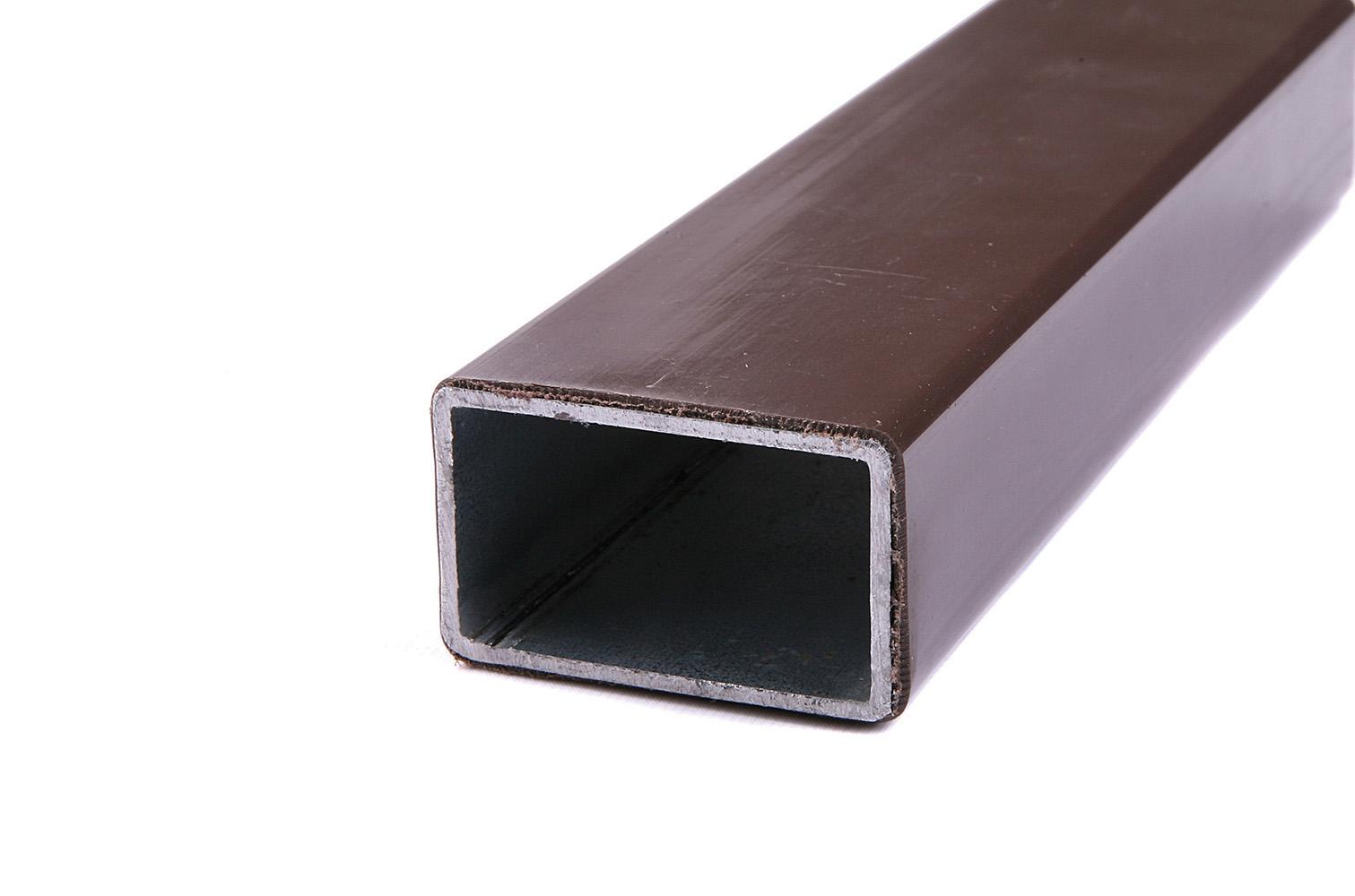 Nosník pro montáž plotovek FeZn (poplastovaný) 30x50 mm (2 m) tmavě hnědý